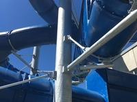 Stahlkonstruktion für eine Rutschenanlage in Chur (CH)